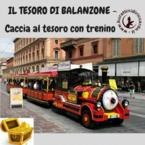 IL TESORO DI BALANZONE - Caccia al tesoro con trenino.