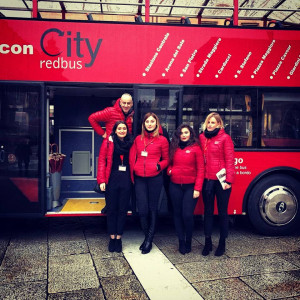 Staff City Red Bus sightseeing Bologna 2018