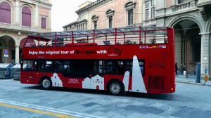 bus City Red Bus sightseeing Bologna 2018-2